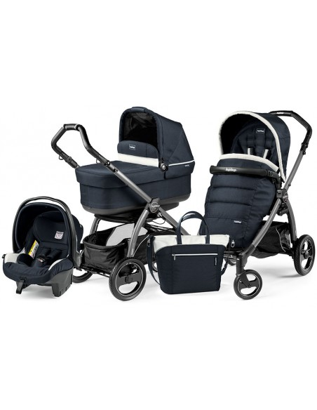 Peg Perego Book S Pop-Up Completo Modular - Jet Luxe Blue