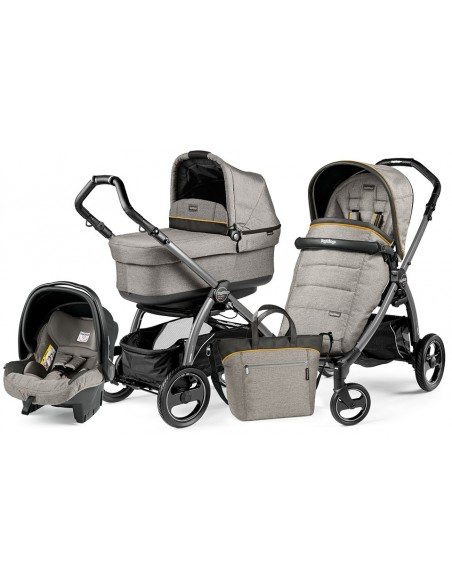 Peg Perego Book S Pop-Up Completo Modular - Jet Luxe grey