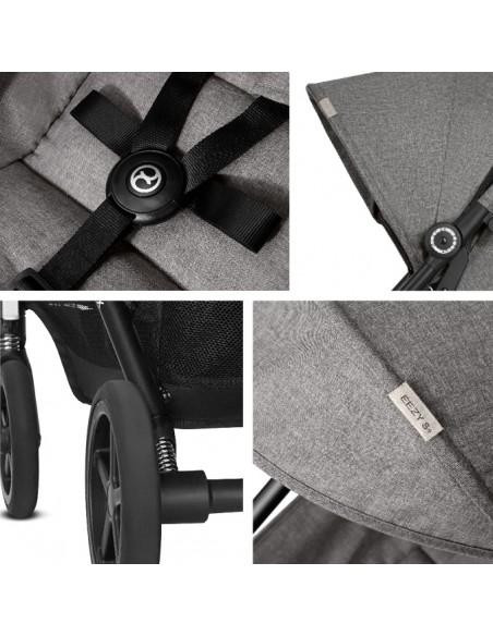 Cybex wózek Eezy Plus Manhattan Grey