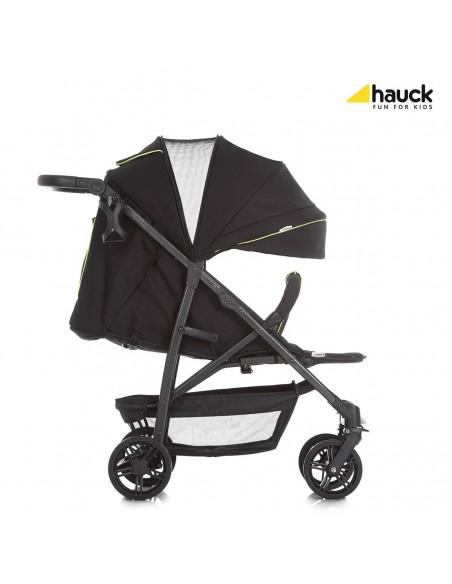 hauck wózek Rapid 4S caviar/neon yellow