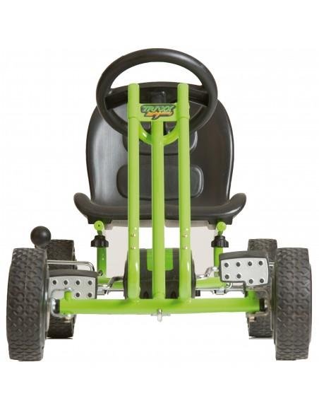 hauck gokart Lightning green