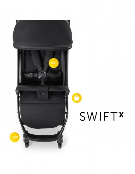 hauck wózek Swift X Black