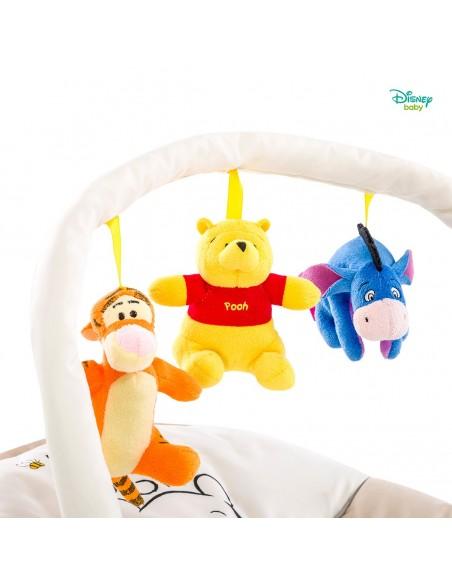 hauck leżaczek Bungee Deluxe Pooh Cuddles