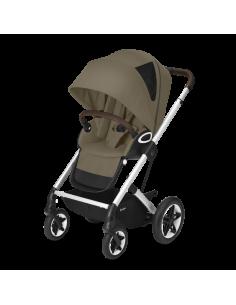 Cybex wózek TALOS S LUX SLV Classic Beige|srebrna rama