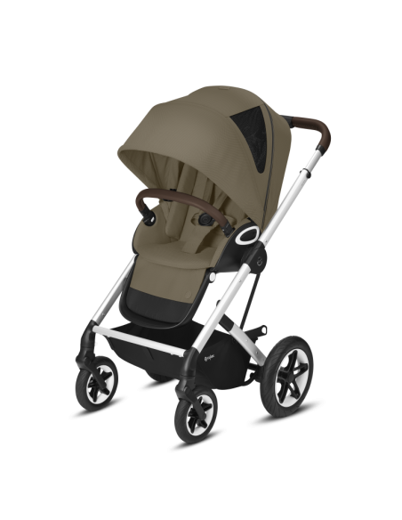 Cybex wózek TALOS S LUX SLV Classic Beige srebrna rama