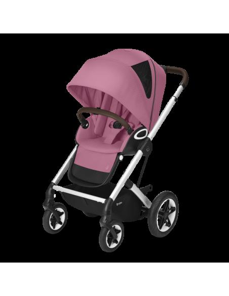 Cybex wózek TALOS S LUX SLV Magnolia Pink|srebrna rama