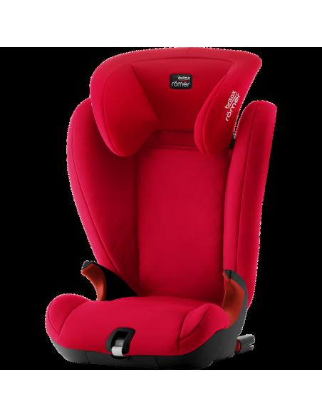 Britax Romer Kidfix SL Black Series -Fire Red