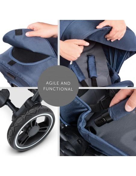hauck wózek Eagle 4S denim/grey