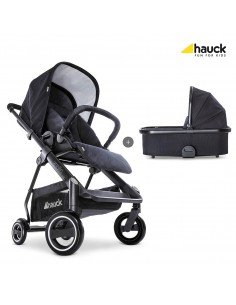 hauck wózek 2w1 Apollo Duoset Caviar/Caviar - Outlet