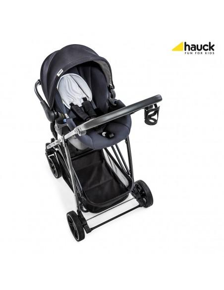 hauck wózek 3w1 Rapid 4S Plus Trioset Caviar/Silver - Outlet
