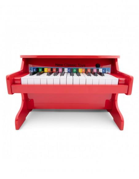 New Classic Toys E-Pianino czerwone - 25 klawiszy