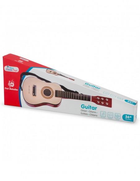 New Classic Toys Gitara brązowa