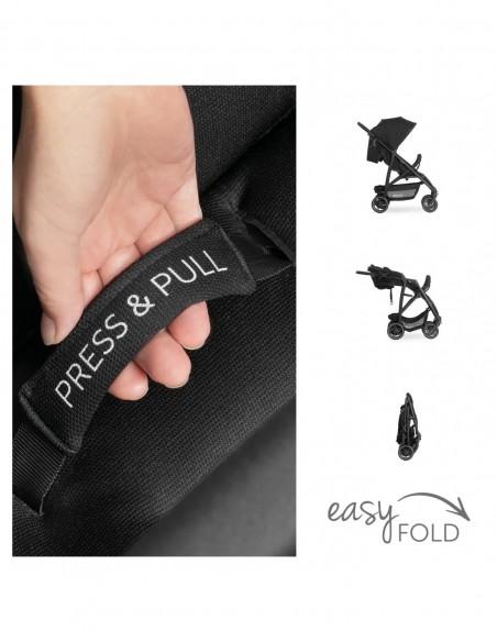hauck wózek Rapid 4R Plus Black
