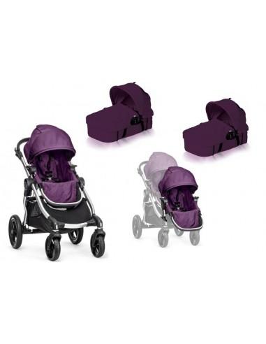 Baby Jogger City Select + siedzisko + 2 gondole Bassinet Kit + KOD RABATOWY - Strona główna